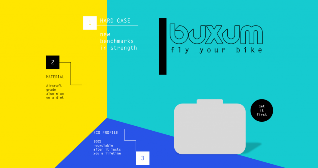 Buxum Coming Soon Page by Digital Devotee